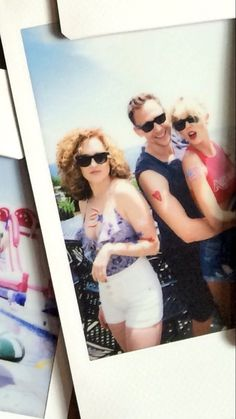Taylor, Tom, and Abigail at Taylor's 4th of July party!