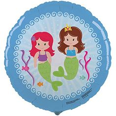 Mermaids 18 Foil Balloon Party Accessory 1 Balloon ** Find out more about the great product at the image link.