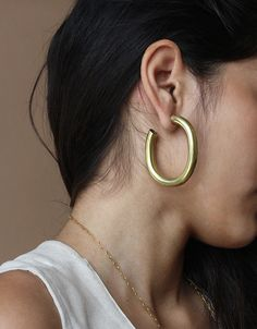 Laura Lombardi Curve Earrings - ARO