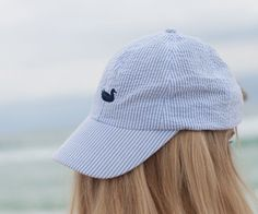 The Seersucker Hat is a retro take on a classic staple. We started with fine twill fabric and put it through several washes to give it a soft broken in feel from the first wear. After the wash, the fa