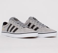 Adidas Skateboarding Americana Vin Low (Mid Grey S14/Black 1/Running White FTW) - Consortium.