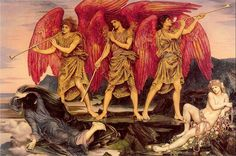 Evelyn De Morgan, Aurora Triumphans c1886