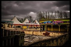 Food Court at Abandoned Theme Park, Camelot by Sonyes