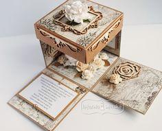Box for him  http://www.hurt.scrap.com.pl/exploding-box-pudelko-latarnia-morska-kraft.html