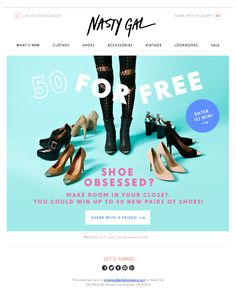 Creative Fashion, Shoe, Obsessed, -, and Womenswear image ideas & inspiration on Designspiration Food Web Design, Ad Design, Logo Design, Graphic Design, Shoe Advertising, Advertising Design, Email Newsletter Design, Email Design Inspiration, Shoes Ads