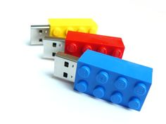 Lego USB Flash Drives...the ultimate in secret/private storage! Available in 7 colors....