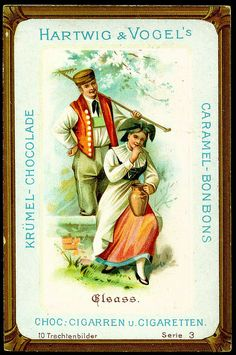 German Costumes - Elsass by cigcardpix, via Flickr