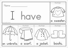 Autumn / Fall Sight Word Flip Books (color and black and white) with a response / recording sheet for each word. These flip books are such a fun way for children to practice reading high frequency words! They are also a great paper saving alternative to traditional readers as each booklet uses only 1 piece of paper!