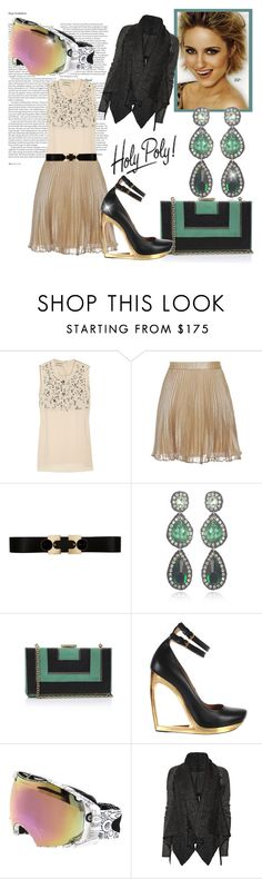 """""""Bewitched... For Jess"""" by sophisty ❤ liked on Polyvore featuring ASOS, By Malene Birger, Club Monaco, Diane Von Furstenberg, Suzanna Dai, Lanvin, Oakley and Rick Owens"""