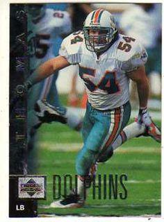 6851700da9b zach thomas football card | Zach Thomas 1997 Upper Deck Football Card