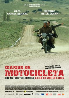 DIARIOS DE MOTOCICLETA (2004): The dramatization of a motorcycle road trip Che…