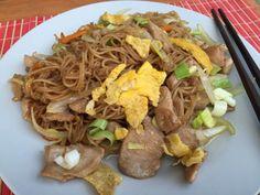 smazene ryzove nudle Japchae, Vietnam, Beef, Ethnic Recipes, Food, Meal, Essen, Hoods, Ox