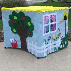 craft, ador playhous, tabl playhous, card tabl, playhouses, gardens, table playhouse, cards, kid