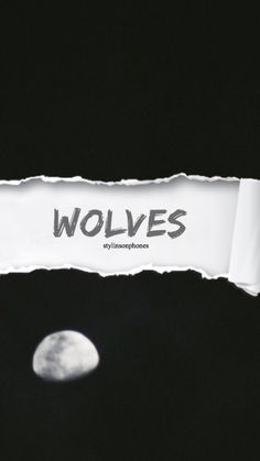Wolves   @stylinsonphones