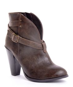 Brown Prima Donna 10 Bootie | Daily deals for moms, babies and kids
