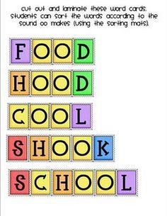 Adventures in Ashley Reed's Classroom Oo Words, Alphabet Phonics, Daily 5, Language Arts, School Stuff, Literacy, Kindergarten, Classroom, Teacher