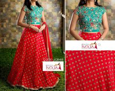 How Pretty is this Lehenga...want :)