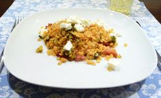 Schöner Tag noch! Food-Blog mit leckeren Rezepten für jeden Tag: Rote Linsen-Salat mit Schafskäse