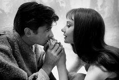 Anthony Perkins and Audrey Hepburn