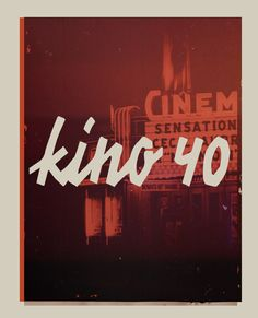 Kino 40 free font is inspired in the old vintage movies handwrite style. It's ideal for big bold headline posters with a retro look. It's free for commercial and personal use. Credits for: les83machines Related