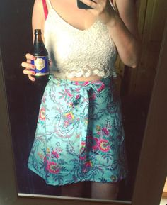 Laura's Miette skirt - sewing pattern by Tilly and the Buttons