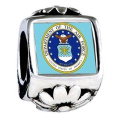 The Us Air Force I need this for my bracelet!