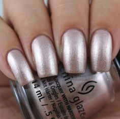 China Glaze Girl On The Glo swatched by Olivia Jade Nails Metallic Nails, Metallic Colors, Acrylic Nails, Colorful Nail Designs, Nail Art Designs, Mani Pedi, Manicure And Pedicure, Jade Nails, Olivia Jade