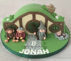 Hobbit House (Lord Of The Rings) Birthday Cake