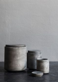 Ceramic and Concrete | Minimal | HarperandHarley