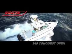 Rugged, skillful and stunning, the 345 Conquest Open commands the attention of all ocean-goers.