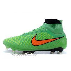 buy online 6c8d5 9f4dc Nike Magista Obra FG Green Red Nike Soccer, Soccer Cleats, Nike Magista  Obra,