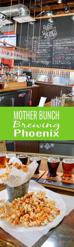 Handcrafted beer, house smoked meat, and an inviting vibe, Mother Bunch Brewing in Phoenix, Arizona is a must visit brewpub. Arizona Trip, Arizona Travel, Food Travel, Travel Tips, Beer Crafts, Best Craft Beers, Drinking Around The World, Brew Pub, Phoenix Arizona