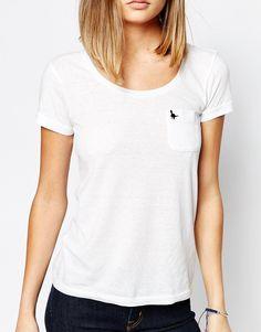 Imagen 3 de Camiseta con cuello redondo y bolsillo Fulford de Jack Wills