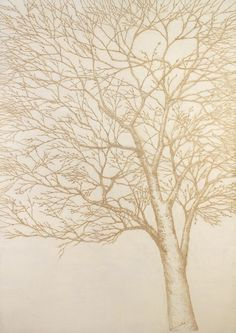 Artist creates beautiful pointillist art with incense and rice paper