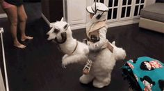 It's Going to Be Heartbreaking When This Kid Has to Cut Open His Adorable Tauntaun Costume