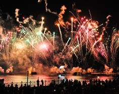 Cap off your big day with a front row view of IllumiNations: Reflections of Earth #Epcot #wedding #fireworks