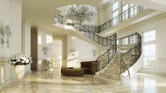 Escalier en marbre Treppen