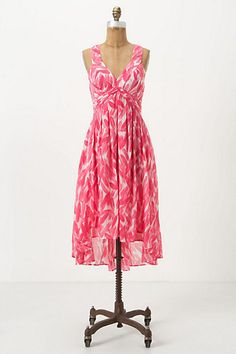 Shaped Feather Dress - Anthropologie.com