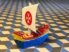Piratenschiff zum Basteln Famous Brands, Game Pieces, Clearance Toys, Crafting