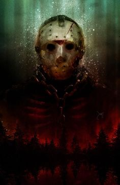 Jason Voorhees, Jason Friday, Friday The 13th, Happy Friday, Scary Movies, Horror Movies, Horror Villains, Tatto Skull, Horror Icons