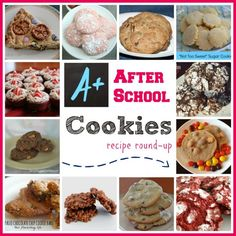 Nothing makes my kids happier after a long day at school than finding out Mom baked cookies. Here are my favorite after school cookie recipes. Back to school is comin' atcha! Be ready for the snack attacks!