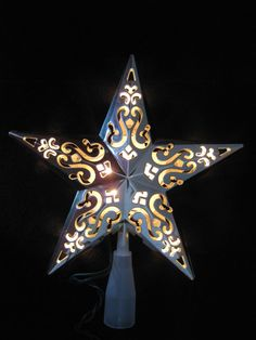 Corrugated Cardboard Stars could be left natural, painted or ...