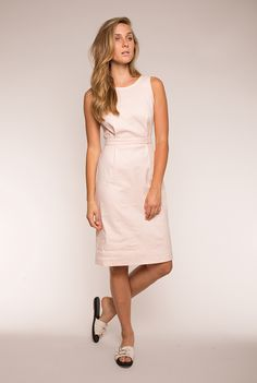 The Florence dress from @obakki is the perfect shade of pastel pink. #dresses #shopthelink #garmentory #newarrivals #fashion #style #pink