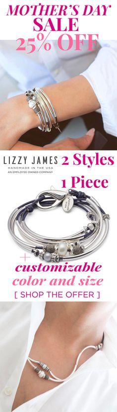 Convertible Jewelry Bracelet to Necklace - 2 Looks in 1 Piece Mom Jewelry, Metal Jewelry, Jewelry Crafts, Beaded Jewelry, Jewelery, Handmade Jewelry, Jewelry Design, Jewelry Making, Unique Jewelry