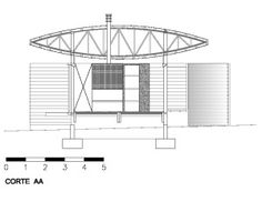 corte_AA Cazu Zegers Tent House a permanent tent in Chile