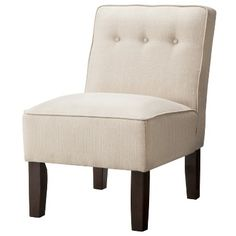 $120 - Burke Slipper Chair with Buttons