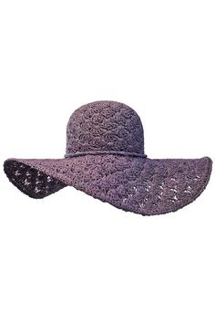 Lacey Toyo Wide Brim Floppy Hat