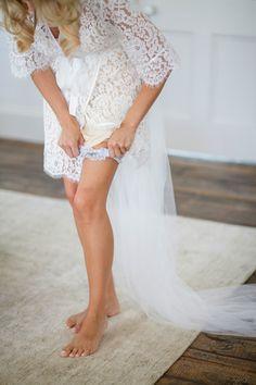 bridal robe homebodii lace