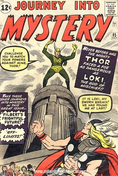 First Appearance of Loki