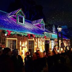 #WinterWonderlights at Sovereign Hill's Christmas in July 2015